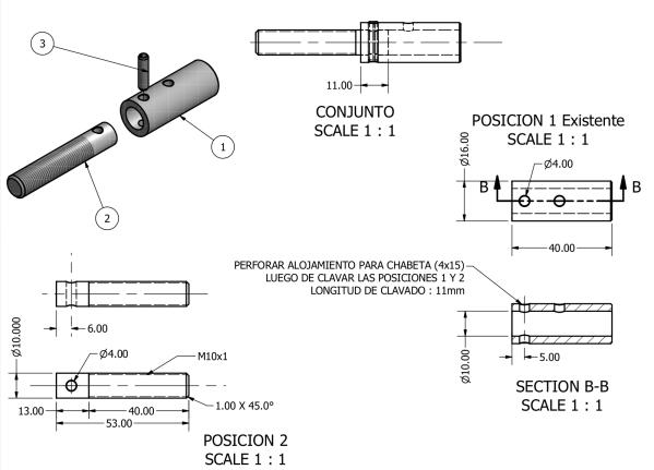 diseño y fabricación de componentes y piezas especiales