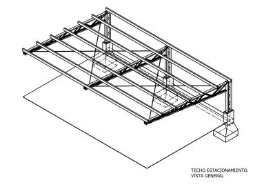 diseño de techo metálico
